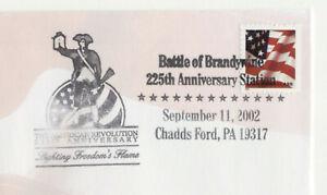 American Revolution 225th Anniversary Chadds Ford PA Commemorative Cover