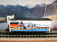 Marklin Ho - germany International Series Car W/brakeman's Cab - Rare