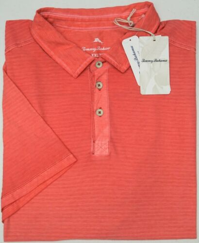 NWT $99 Tommy Bahama SS Mandalay Red Shirt Mens M L XXL Cirrus Coast Polo NEW
