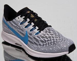 Détails sur Nike Air Zoom Pegasus 36 Homme Blanc University Bleu Noir Chaussures Course