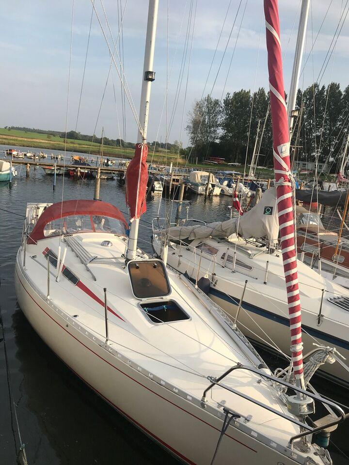 Velsejlende 30 fods svensk kvalitetsbåd fra 1980