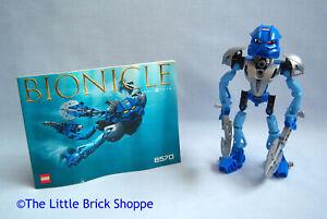 100/% Complete Figure Lego 8570 Bionicle GALI NUVA Toa Nuva