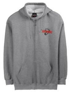 Harley-Davidson-Men-039-s-Rolling-Stones-Mash-Full-Zip-Fleece-Hoodie-Gray