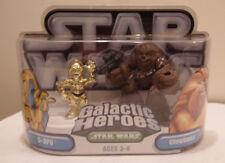 Figurki akcji i z filmów Star Wars Galactic Heroes Chewbacca w/ Exploding C3PO and Net Bespin Wookie