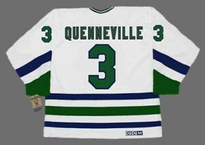 the latest 5cde4 a3011 Details about JOEL QUENNEVILLE Hartford Whalers 1986 Home CCM Vintage  Throwback NHL Jersey