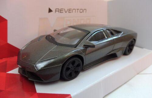 Lamborghini Reventon Gris Mondo Motors 1//43 Neuf boite d/'origine