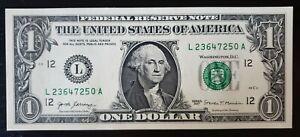 Amérique (USA) billet de 1 DOLLAR, valide aux USA - Etat Neuf, ENVOI GRATUIT