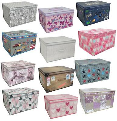 Large Collapsible Jumbo Storage Box Folding Pop Up Chest Toy Room Tidy Organiser Ebay