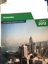 Economics CFA Program Curriculum Volume 2 Level I 2012