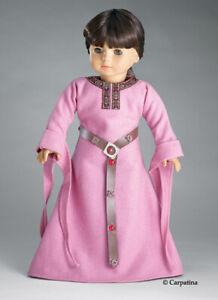 Doll-Clothes-18-034-Dress-Renaissance-Rose-English-Princess-Carpatina-Fits-AG-Dolls