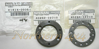 Wheel Bearing Lock Nut Conversion Kit Nissan Patrol GQ GU