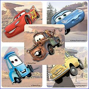 Cars-Stickers-x-5-Disney-Shaped-Birthday-Party-Favours-Lightning-McQueen