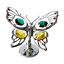 Crystocraft-Butterfly-Ornament-Crystal-Ornament-Swarovski-Elements-Gift-Box thumbnail 3