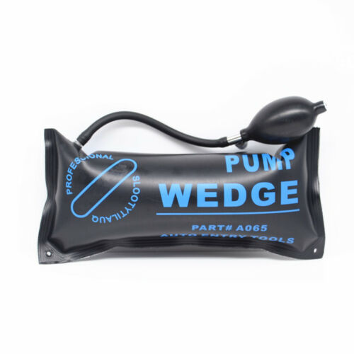 3x Air Wedge Alignment Tool Inflatable Shim Air Cushioned Powerful Hand Pump Kit