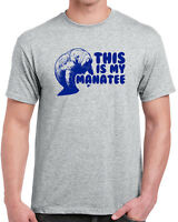 219 My Manatee mens T-shirt funny endangered species mammal preservation new