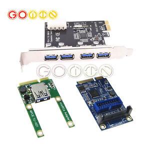 PCI-E Card Slot Expansion to USB 2.0 Interface Adapter Module Riser Card AHS