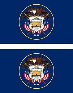 2x-sticker-Adesivo-Adesivi-decal-Vinyl-auto-moto-bandiera-americana-usa-utat