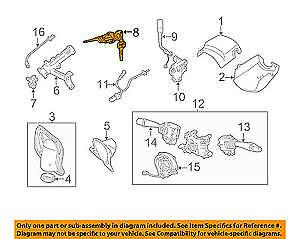 GENUINE-TOYOTA-OEM-04-06-Tundra-Ignition-Lock-Cylinder-6905734050
