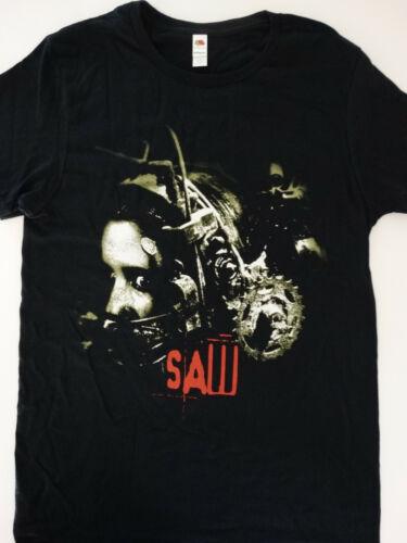 Saw Horror Movie Poster Head Trap Jigsaw T-Shirt