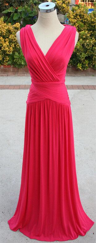 Neuf avec étiquette BCBG MAX AZRIA fucshiabry soir robe de bal L