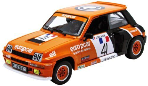 Renault 5 Turbo  41 Turbo Cup 1981 J. Gouhier 1 18 Model 4550 UNIVERSAL HOBBIES