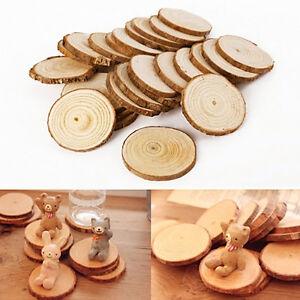 50-Rund-Holzscheiben-Baumscheiben-Anhaengeetiketten-Hochzeit-Basteln-DIY-PAL