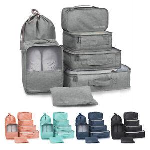 PRO Packing Cubes demballage pour le voyage 10 pi/èces Organisateurs pour valise