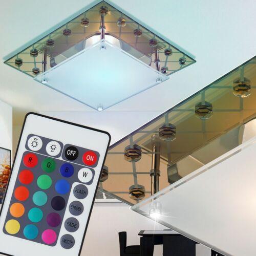 LED Decken Kupfer Lampe RGB Farbwechsler Fernbedienung Lichtspiel Wohn Zimmer