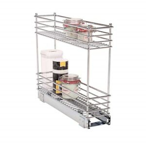High Quality Image Is Loading Small Narrow Kitchen Sliding Storage Organizer Pull Out
