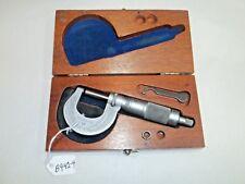 Brown Amp Sharpe 0 1 Range No 13 Machinists Micrometer 0001 Usa