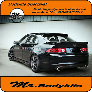 Mugen-Style-Plastic-Rear-Boot-Spoiler-Wing-Suit-Honda-Accord-Euro-2003-2008-CL9