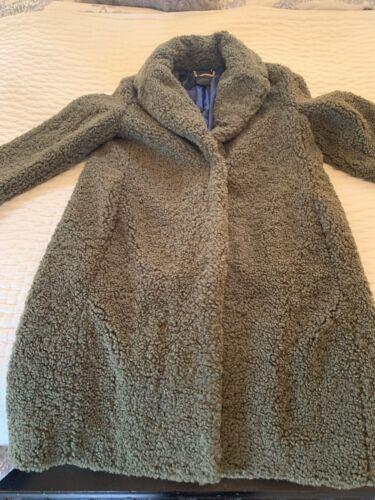 J Crew Teddy Sherpa Top Coat