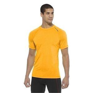 Reebok-CrossFit-Perf-SS-Tee-Sizes-S-XL-Orange-RRP-30-BNWT