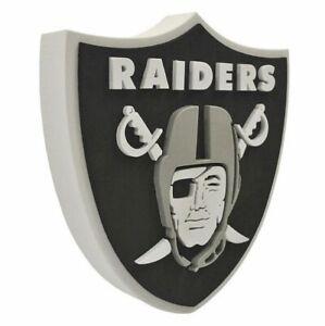 Oakland-Raiders-3D-Fan-Foam-Logo-Sign-Bild-NFL-Football-Relief-Wandlogo-37cm