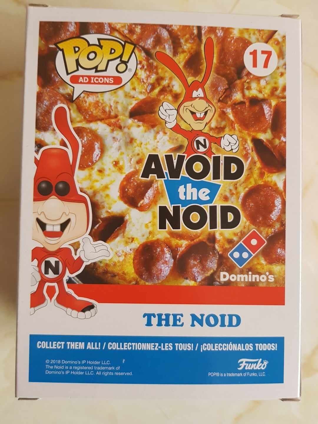 Funko Pop Pop Pop The NOID exclusivo. de5057