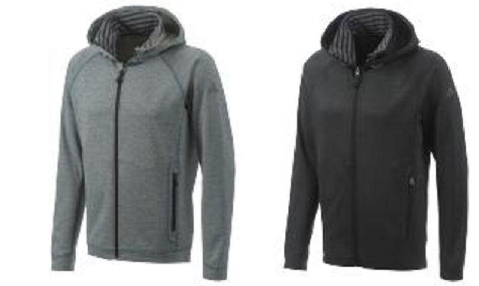Adidas HT Melange Jacket Kapuzen Jacke Herren Fleece