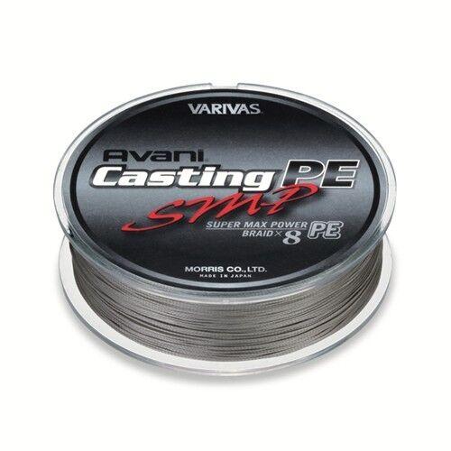 VARIVAS Avani Casting PE SMP Super Max Power 8 Braid PE PE Braid Line 400m 437yds a459b1