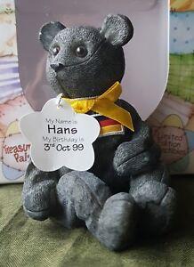 Cute Treasured Pal Hans the German Bear Ornament Gift Idea Boxed UK Freepost