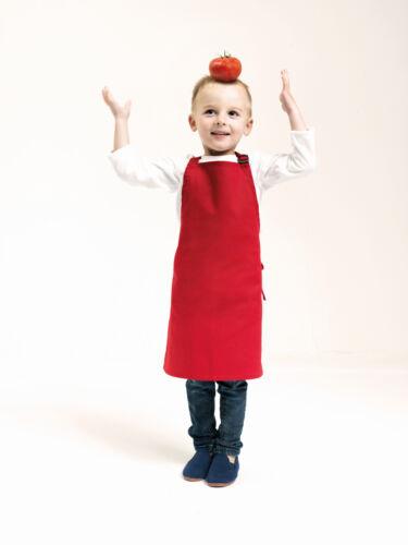 Kinder Baby Schürze Latzschürze Bestickt Name Geschenk 2 Größen viele Farben