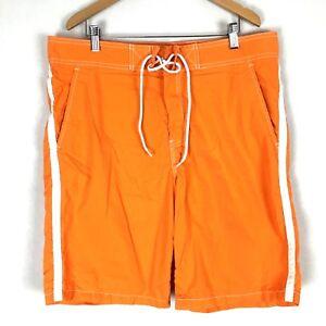014843830c Image is loading Arizona-Mens-Swim-Trunks-36-Orange-Neon-Swimsuit-