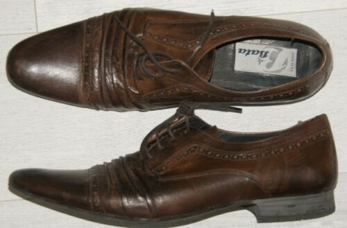 Richelieus 43 Bata Brown À Gr Chaussures Lacets Hommes rWwq0czgr