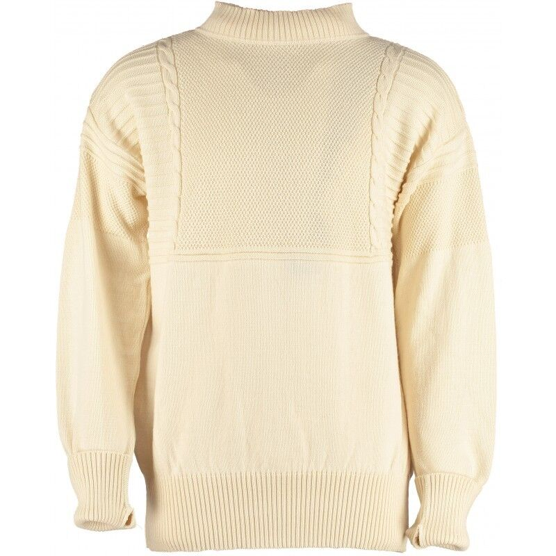 New 100% British wolleTurtle neck Seaman's schweißer   Jumper Gansey style  41067
