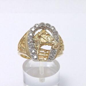 Retro  Mens Diamond Rings