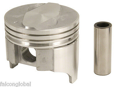 Sealed Power//Federal Mogul Chevy 307 Cast Flat Top 4VR Piston+MOLY Ring Kit 30