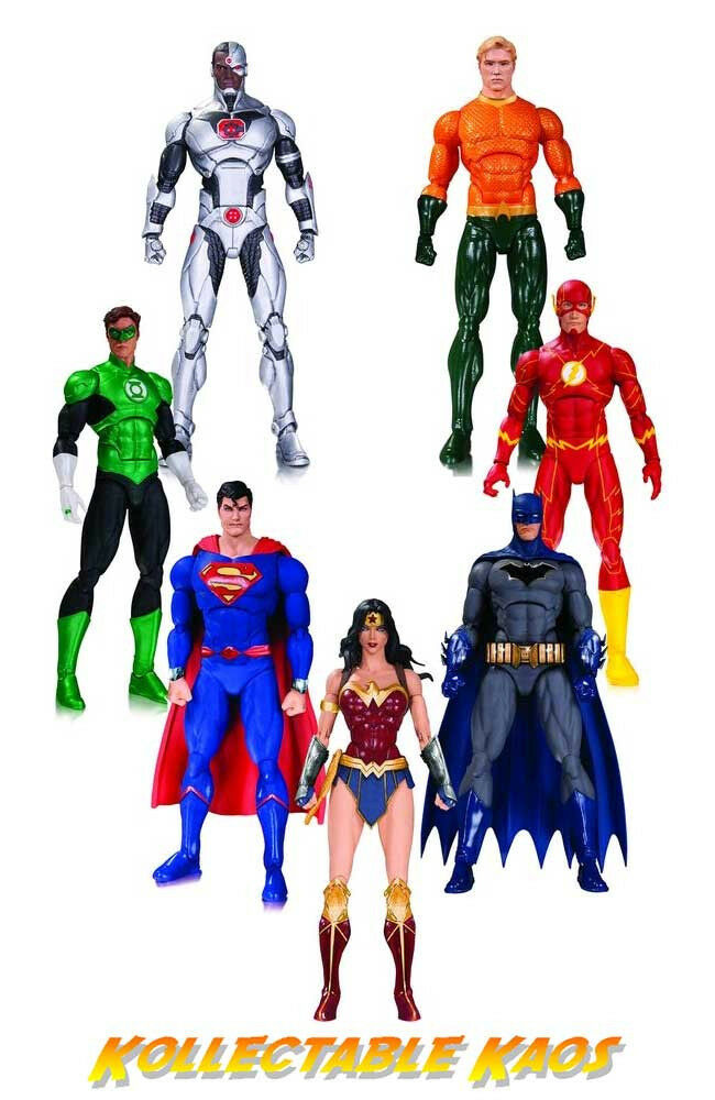 Justice League - Rebirth Action Figure 7-Pack