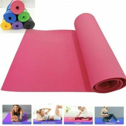 Non-Slip Tapis de Yoga Fitness Exercice Gym méditation Sports Yoga Mat 183x61x0.