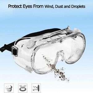 1x-Lunettes-de-Protection-des-yeux-Lunettes-de-securite-Travail-Antipoussiere