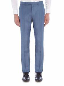Kenneth-Cole-Skylar-Slim-Flat-Front-Trousers-Blue-30R-TD172-RR-07
