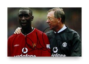 Andy-Cole-Signed-6x4-Photo-Manchester-United-England-Autograph-Memorabilia-COA