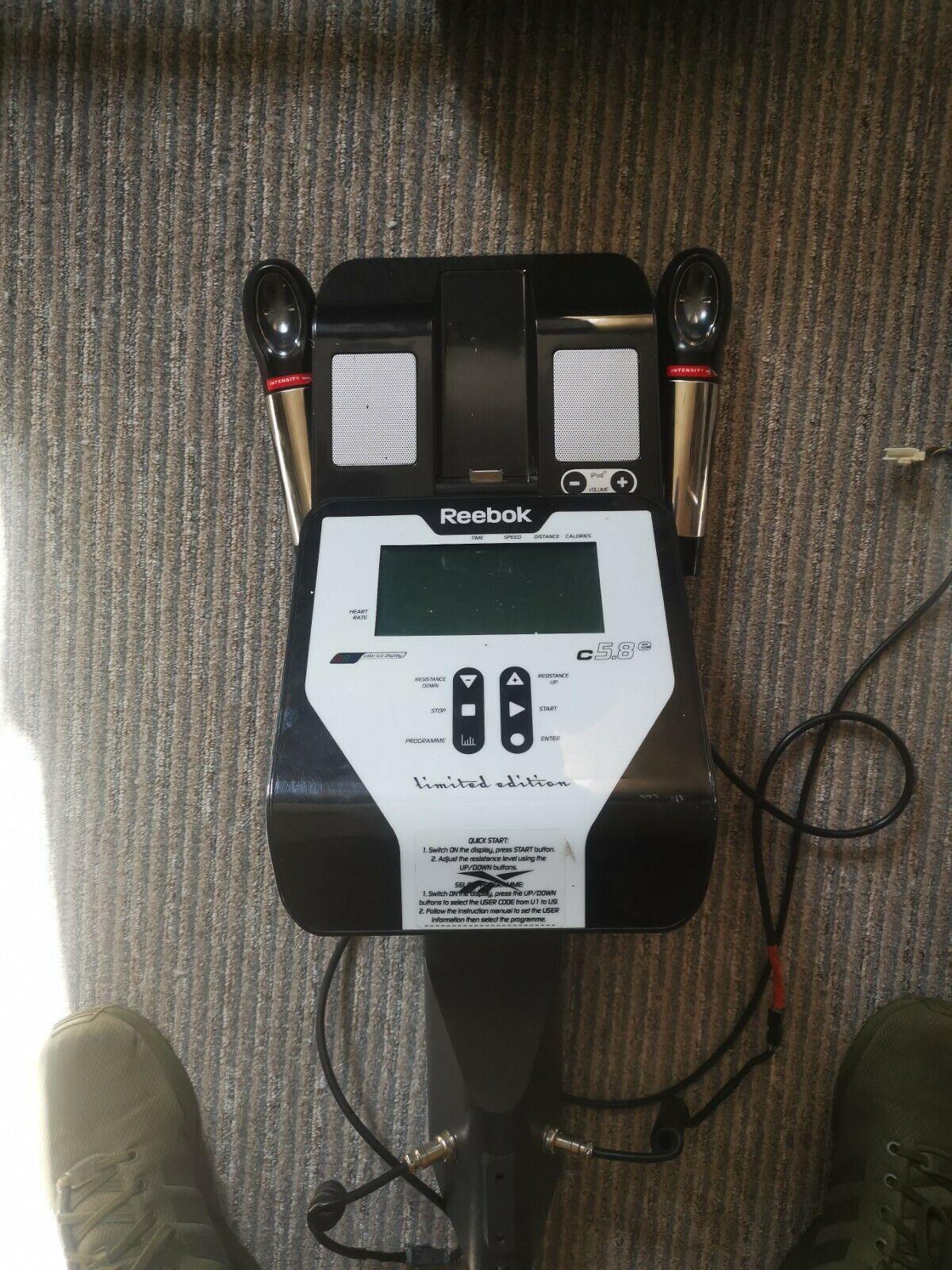 campo Andrew Halliday Instituto  Reebok C5.8e Le Elliptical Cross Trainer for sale   eBay